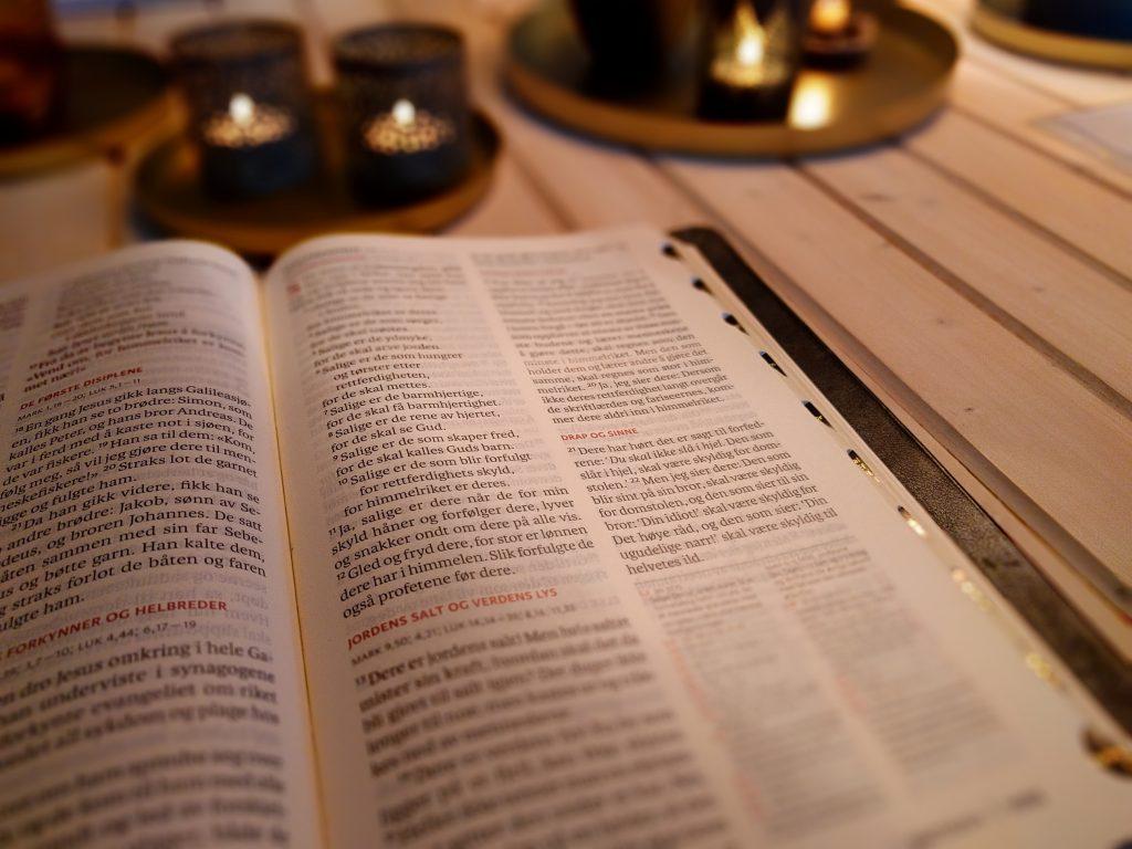 Bibelen utfordrer oss på å rense samvittigheten